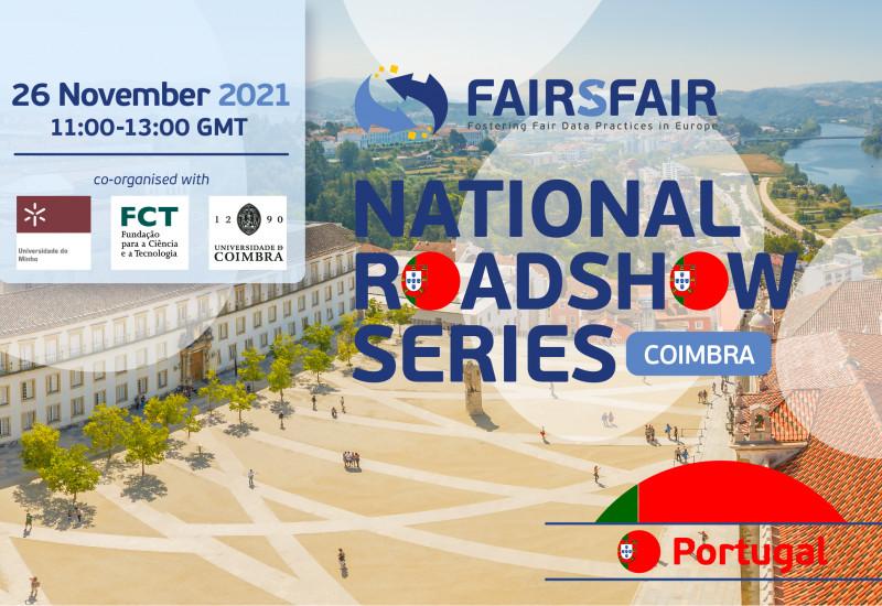 FAIRsFAIR National Roadshow in Portugal