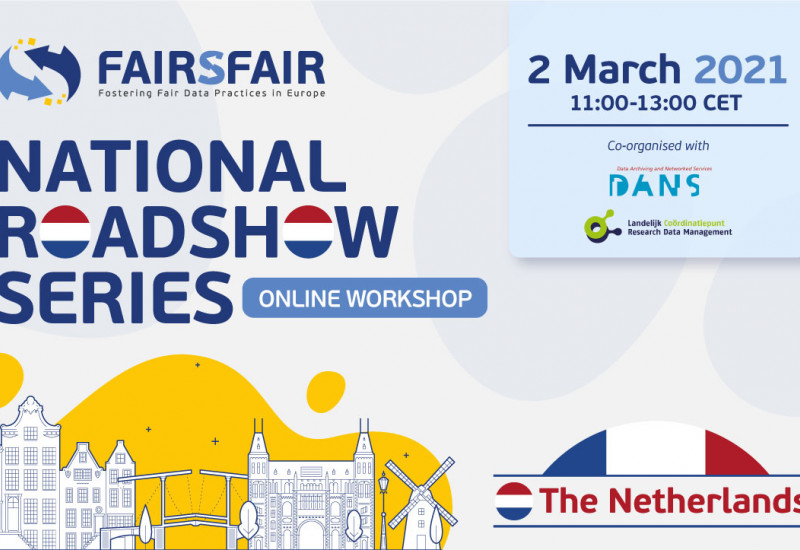 FAIRsFAIR Roadshow - The Netherlands