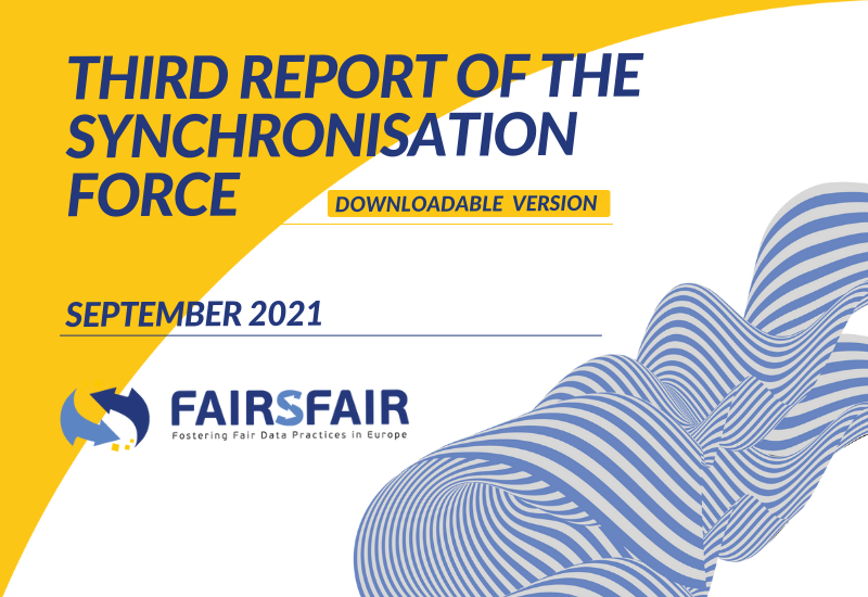 The Report of the Third Synchronisation Force event is out!