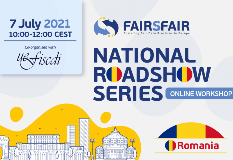FAIRsFAIR Roadshow - Romania
