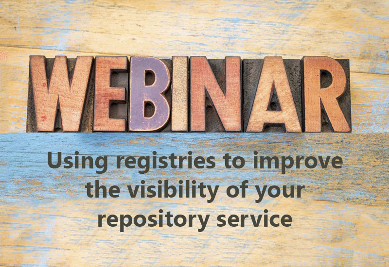 Using registries to improve the visibility of your repository service
