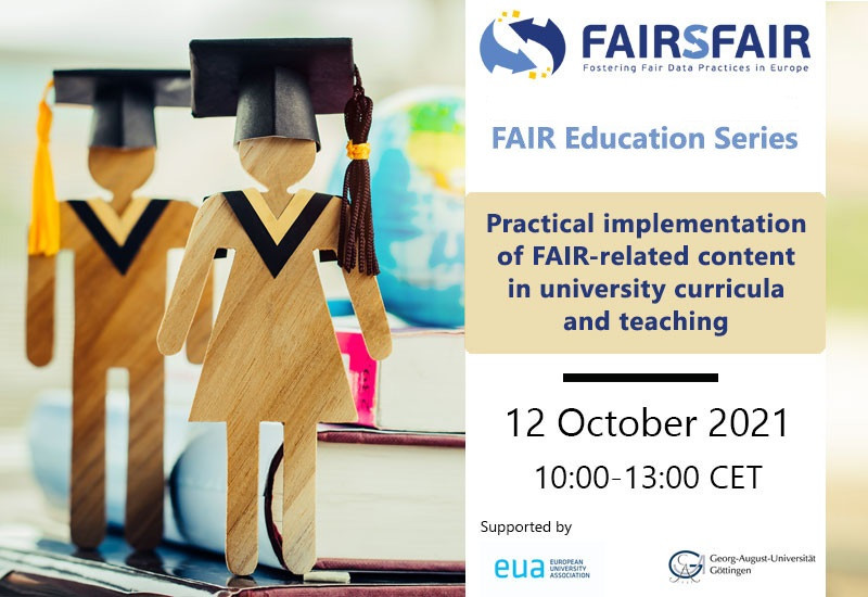 Practical implementation of FAIR-related content in university curricula and teaching