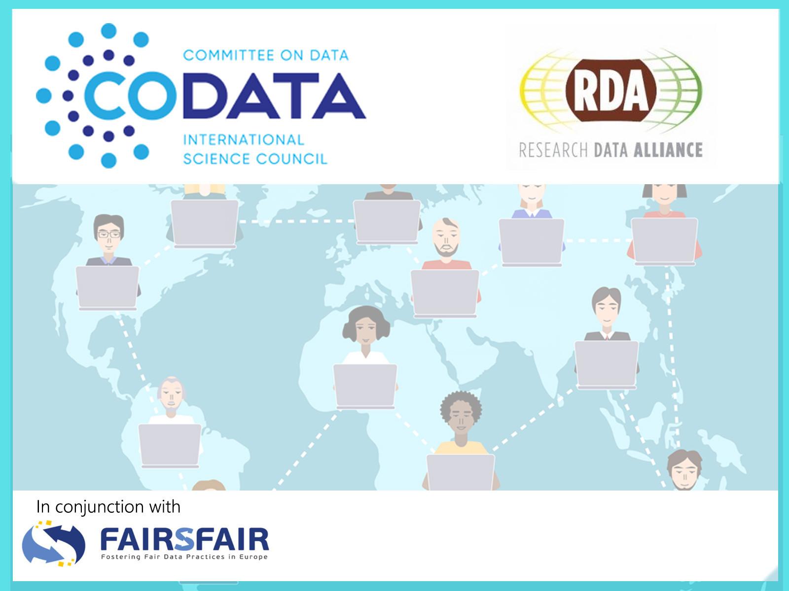 FAIRsFAIR-CODATA-RDA Data Steward Training Series